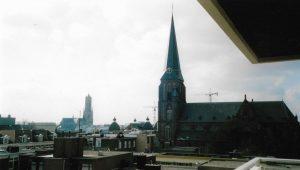 Van Arnhem naar Kopenhagen uitzicht over Arnhem