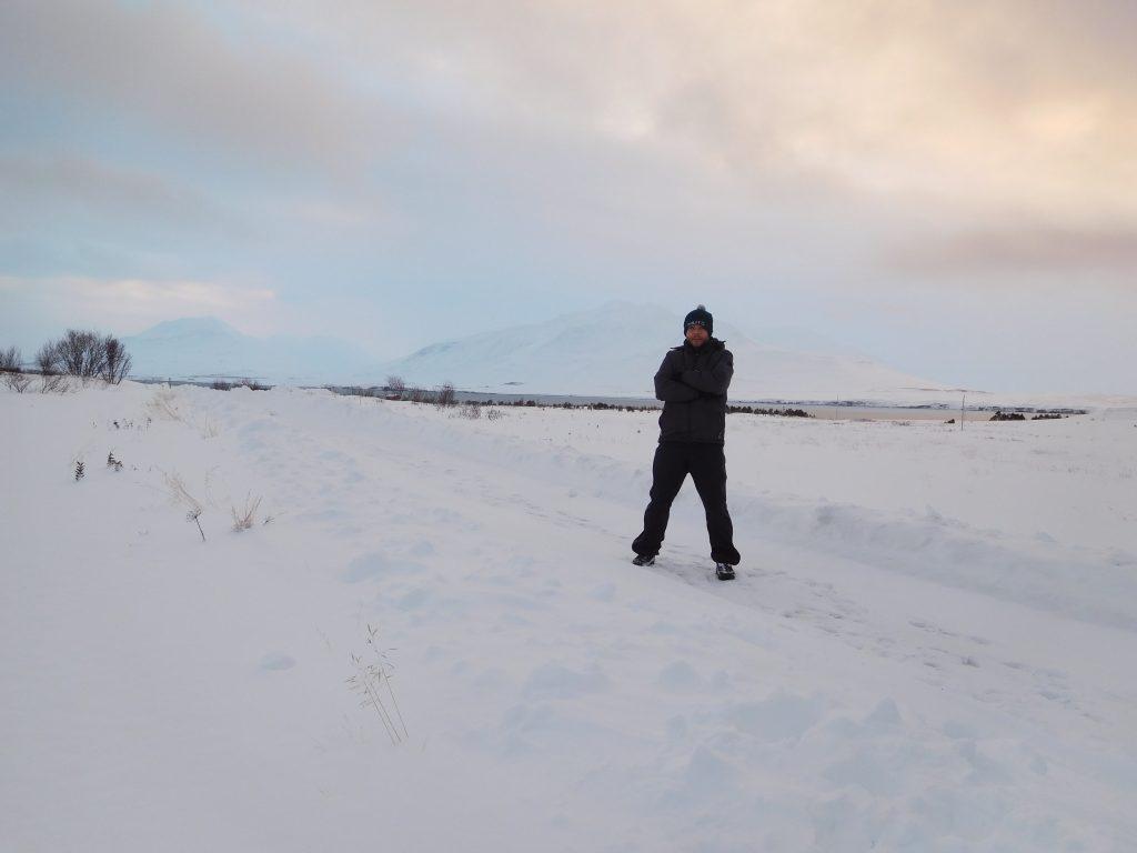 Met de boot naar IJsland - in de sneeuw
