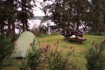 Van Varkaus naar Savonlinna. Camping Varkaus