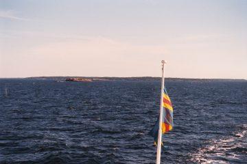 Van Kunlinge naar Mariehamn. Veerboten Aland