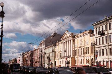 Sint-Petersburg - Mooie ogen Nevski Prospekt