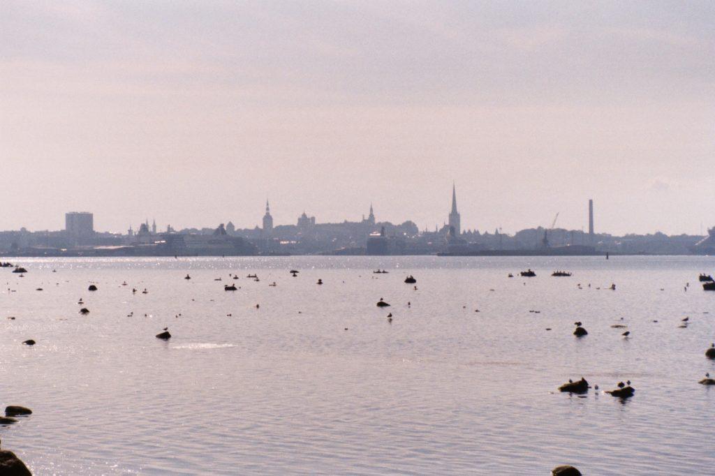 Van Pärispea naar Tallinn - skyline Tallinn