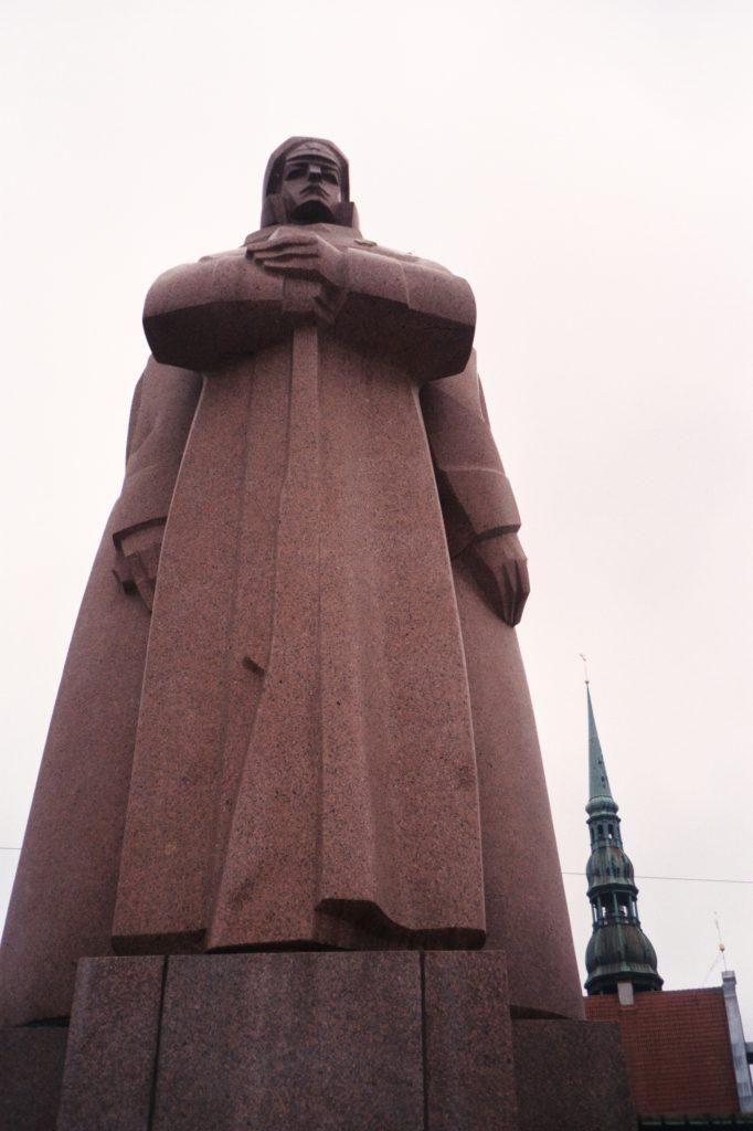 Riga - Reisadviezen - Sovjetstandbeeld