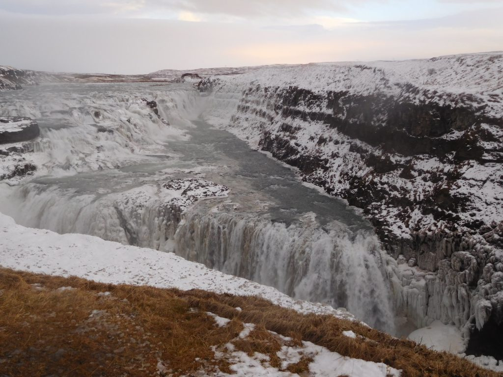 De Boot naar IJsland - Gullfoss watervallen