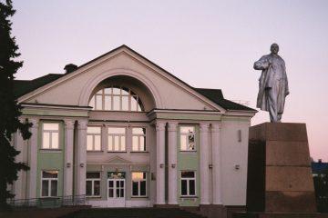 Volkovysk - Lenin standbeeld