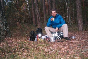 Van Mozyr naar Plyluky - Grenscontroles - Kamperen in het bos
