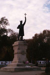 Chişinău - geen hol - standbeeld Stefan cel Mare