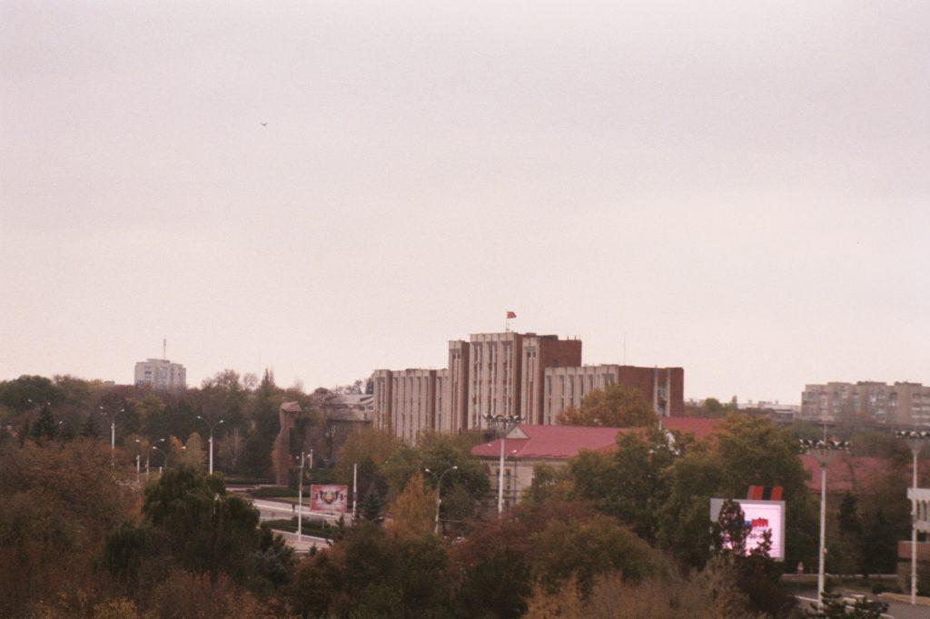 Van Chişinău naar Tiraspol - opperste sovjet