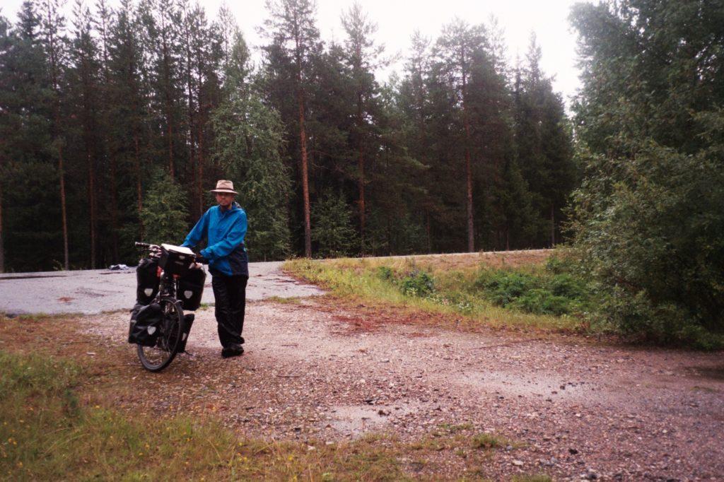 Van Puolanka naar Kajaani - Prins Friso - Finland in de regen