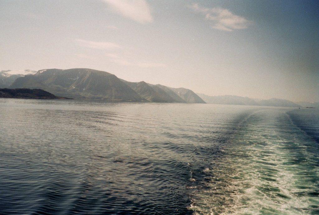 Van Tromsø naar Honningsvåg - Hurtigruten - op de boot