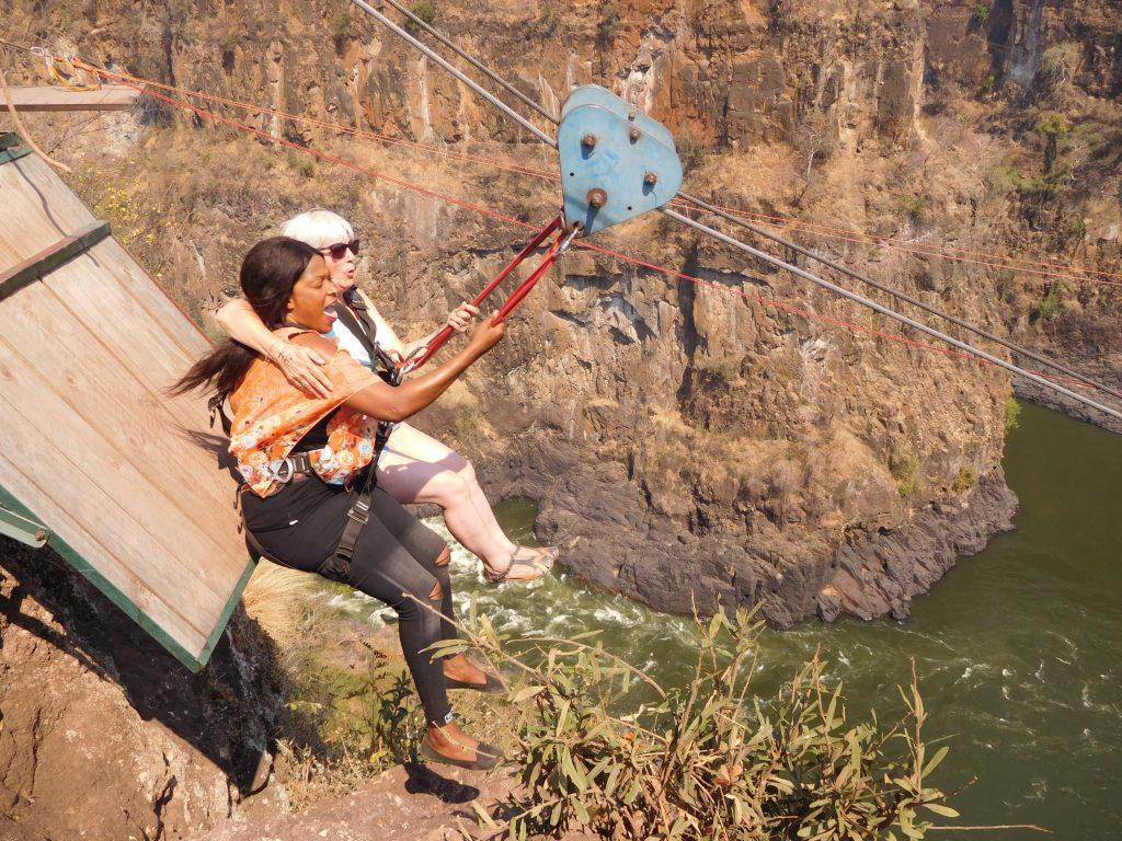 Parel van Afrika - Victoria Falls - zipline over de Zambezi