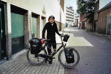 De spullen op een fietsreis - Fietstassen - volle bepakking
