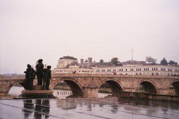 van Pristina naar Skopje - Verdrietig