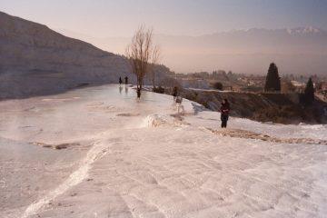 Pamukkale - Schijnbaar ijs