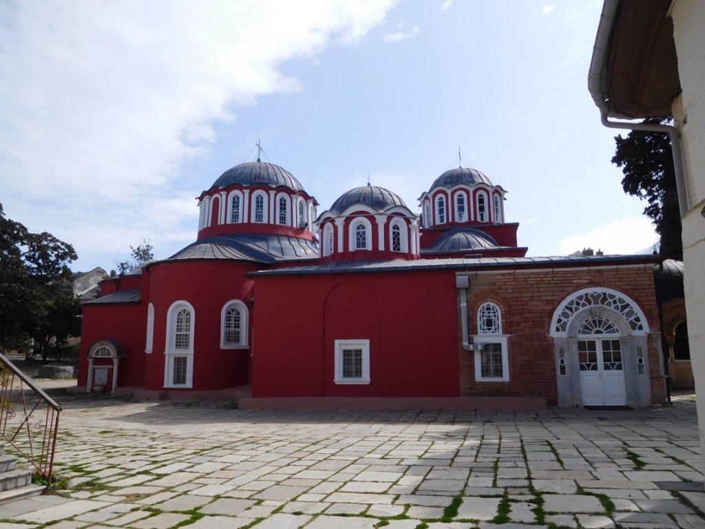 Bidden in de nacht - Megistis Lavras Klooster Athos