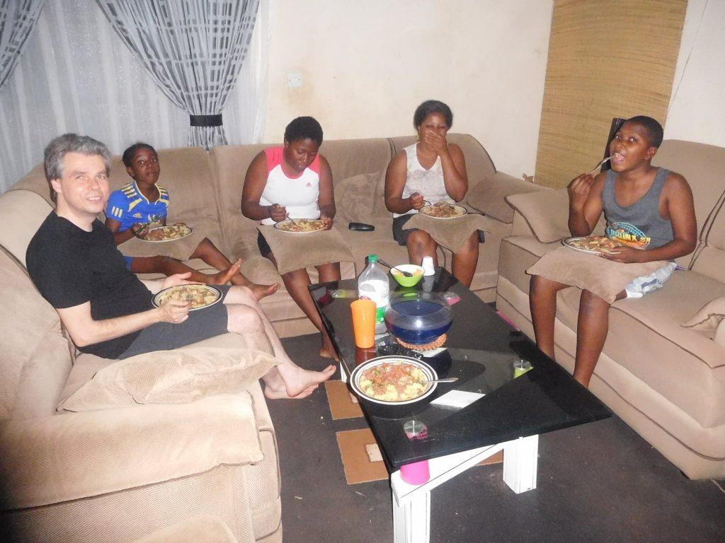 Woonstress voor gevorderden - eten met het gezin