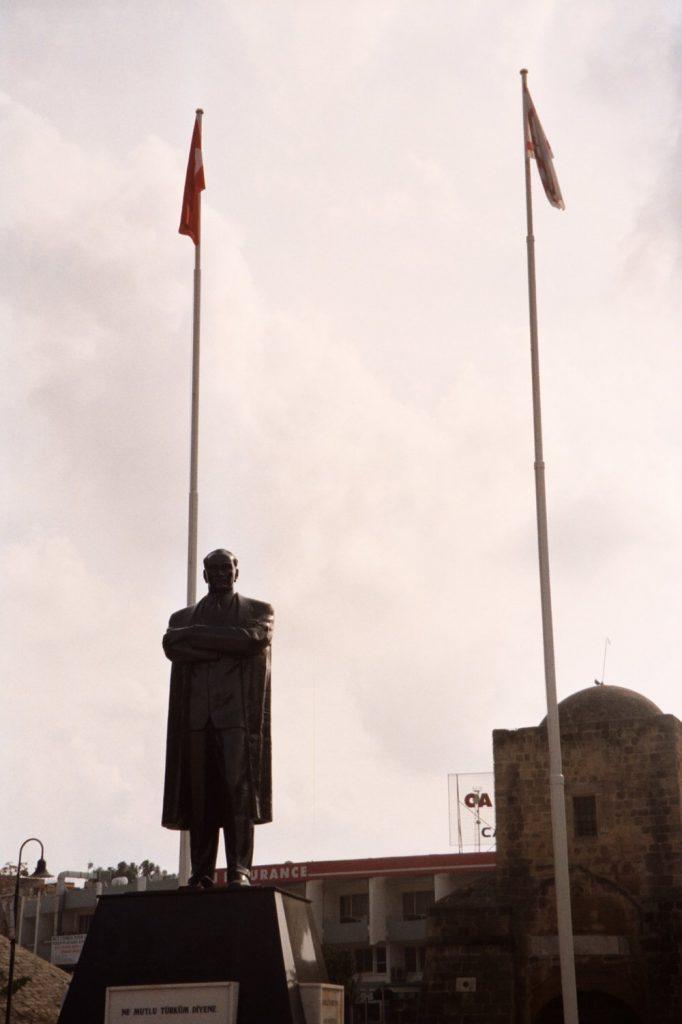 Atatürk in Turks Nicosia