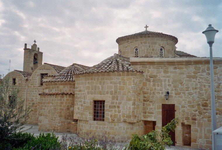 Van Nicosia naar Nicosia - kerkje in het Griekse deel