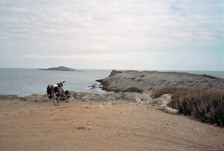 Zafer Burnu - fiets op het uiterste puntje van Cyprus
