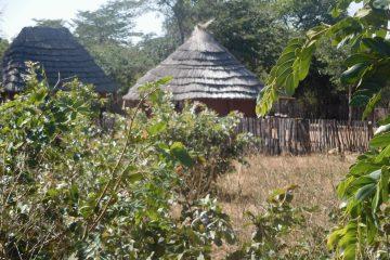 Rillen in de nacht - Afrikaans dorp