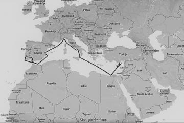 Nicosia - Nieuwe plannen - landkaart