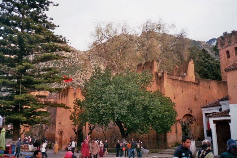 De kasba van Chefchaouen