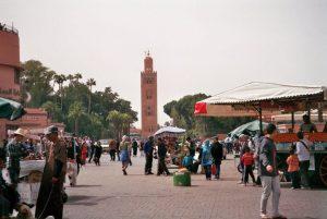 Marrakech - Arabische kakofonie - Djemaa el Fna