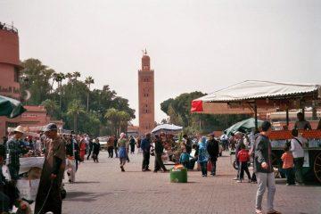 Marrakech - Arabische kakofonie - Djemaa el Fba