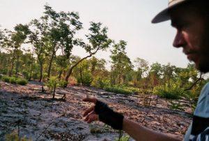Het gevaar op een fietsreis - Eenzaamheid - Botswana