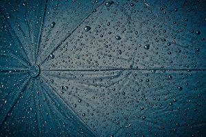 vijf minuten in de regen