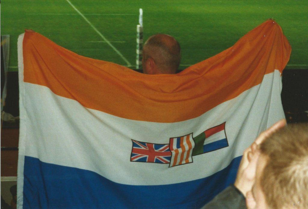 Zuid-Afrikaanse rugbyfan