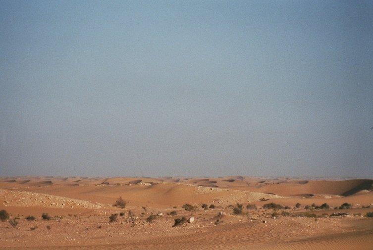 Zandduinen in Westelijke Sahara