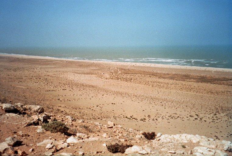 Atlantische Oceaan in Westelijke Sahara