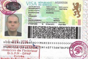 Nouakchott - Ebola - visum Senegal