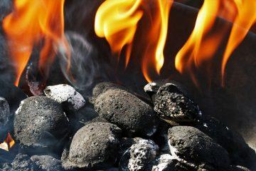 Van Goudiri naar Diboli - Lichte zeden - houtskoolvuur