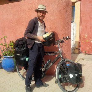 van kelle naar Thiès - de tubab - ik in Senegal