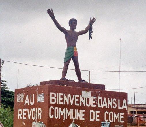 Van Cotonou naar Ouidah - Voodoo - slavernij Benin