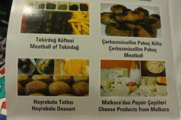De basis van een fietsreis - Eten in Turkije