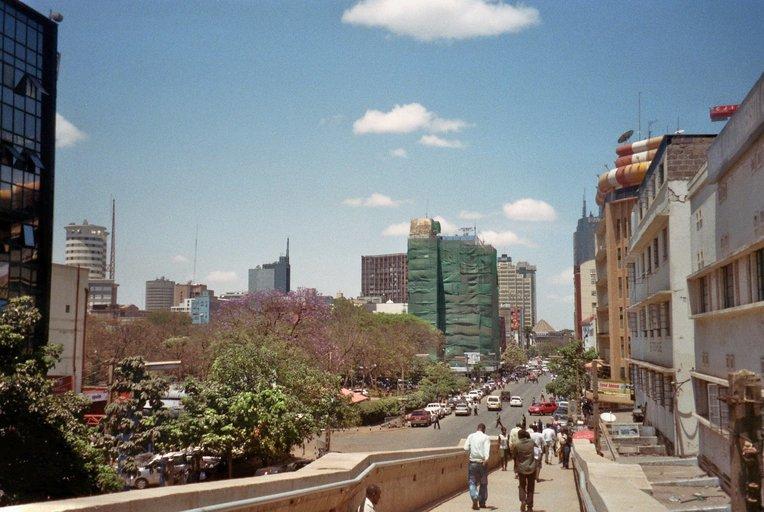 Eindpunt van de A2: Nairobi